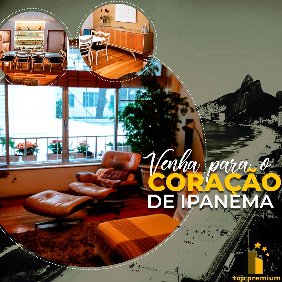 Apartamento no Coração de Ipanema