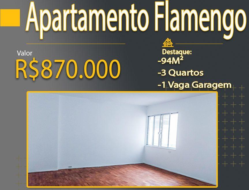 Vendo Apartamento Flamengo · Rua Senador Euzebio